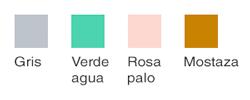 Colores para base del nido
